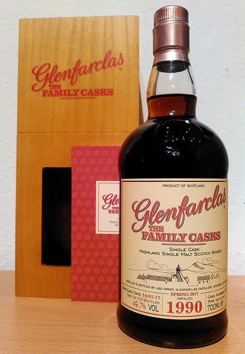 Glenfarclas 1990 The Family Casks 26 Years old Sherry Butt 5119