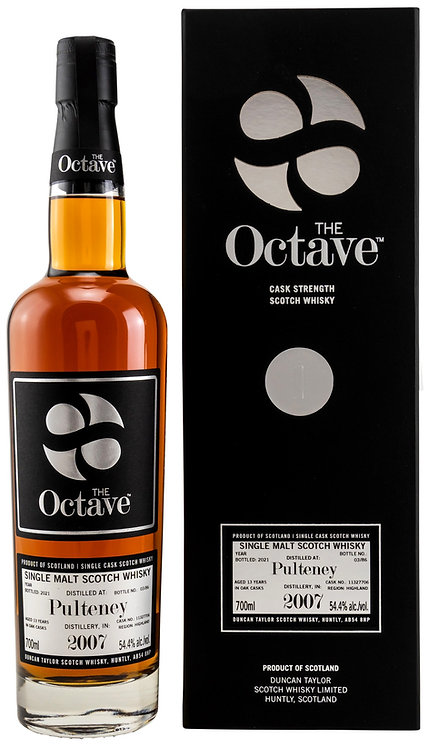 Pulteney 2007/2021 Duncan Taylor The Octave 13 years old Cask 11327706