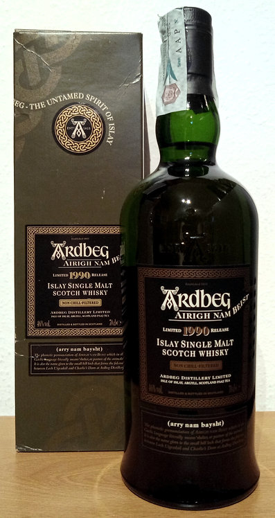Ardbeg Airigh Nam Beist 1990 - 2006 Islay Single Malt Whisky