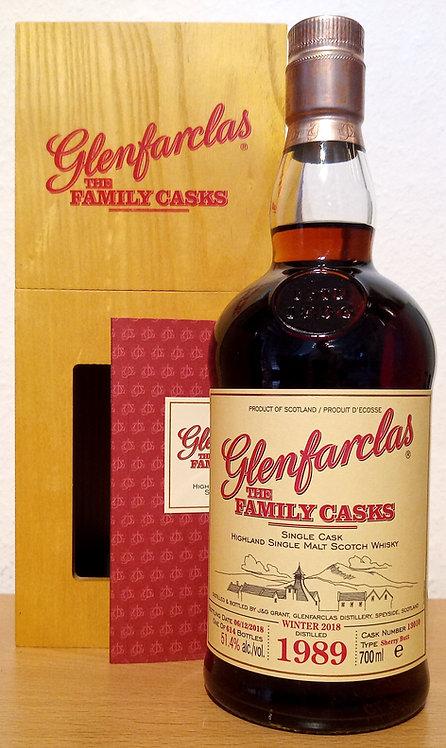 Glenfarclas 1989 The Family Casks 29 Years Sherry Butt 13010