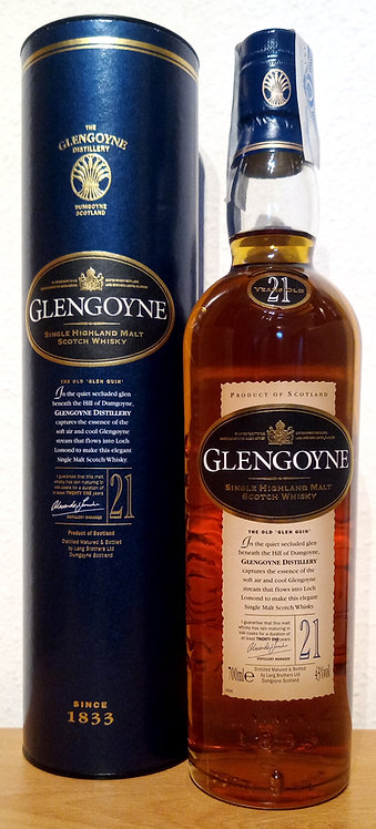 Glengoyne 21 Years old Sherry Casks Limited Release 2005