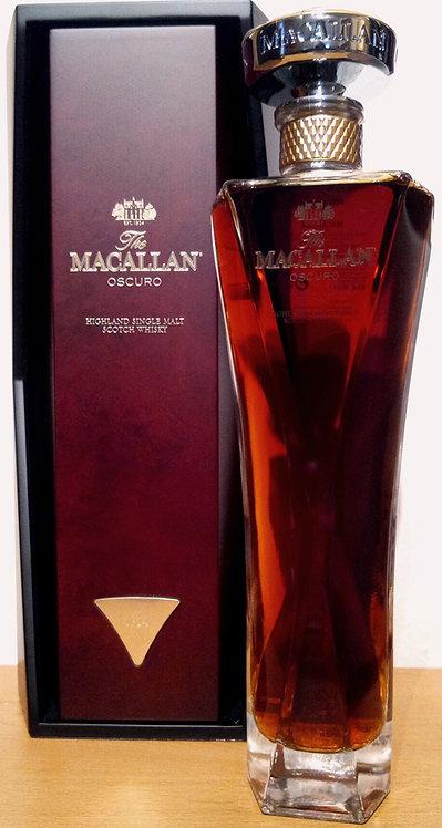 Macallan Oscuro Decanter The 1824 Collection Oloroso Sherry Oak Casks