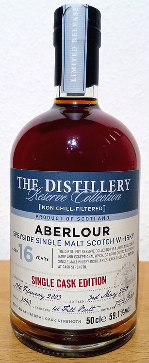 Aberlour 2003 The Distillery Reserve 16 Years old First Fill Butt 9043