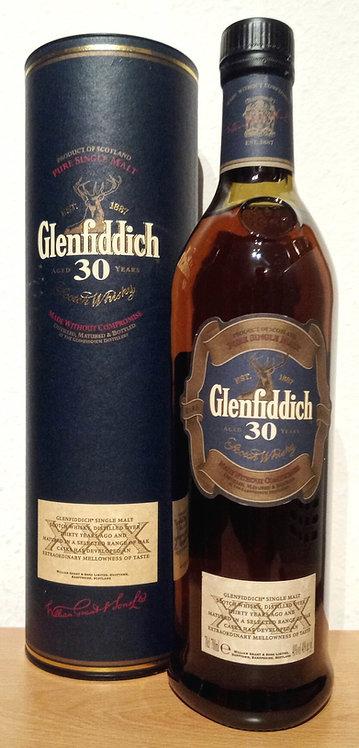 Glenfiddich 30 Years old Bottled 2007-2008 Bottled for Spain