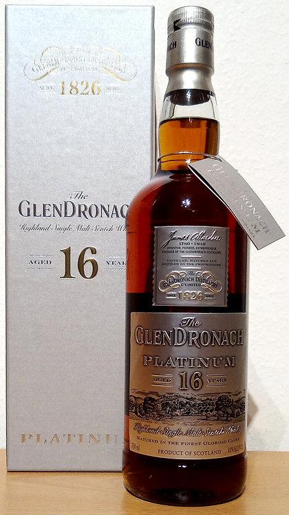 Glendronach Platinum Vintage 1998 Oloroso Sherry Casks 16 Years old 750 ml