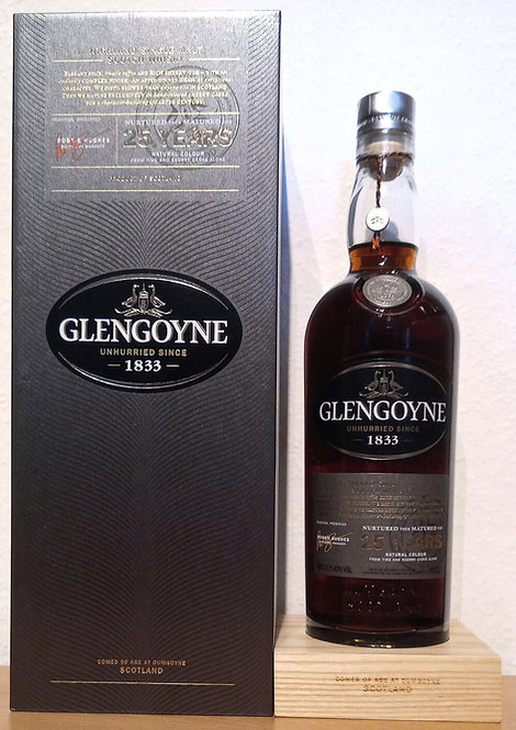 Glengoyne 25 Years old First Fill Oloroso Casks Limited Release 2015