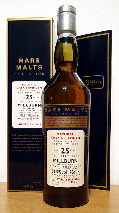 Millburn 1975 Rare Malts 25 years old Cask Strength Lost Distillery