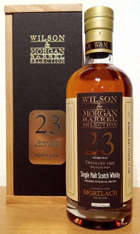 Mortlach 1997 Wilson & Morgan 23 Years 1st Fill Oloroso Sherry Butt Finish