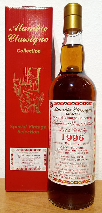 Ben Nevis 1996 Alambic Classique 19 Years old  Sherry Cask 15303