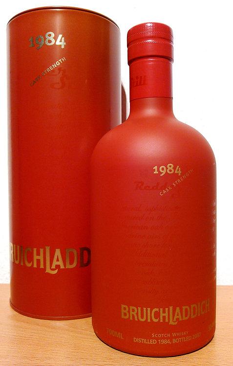 Bruichladdich 1984 Redder Still 22 Years old Limited Edition 4080 Bottles