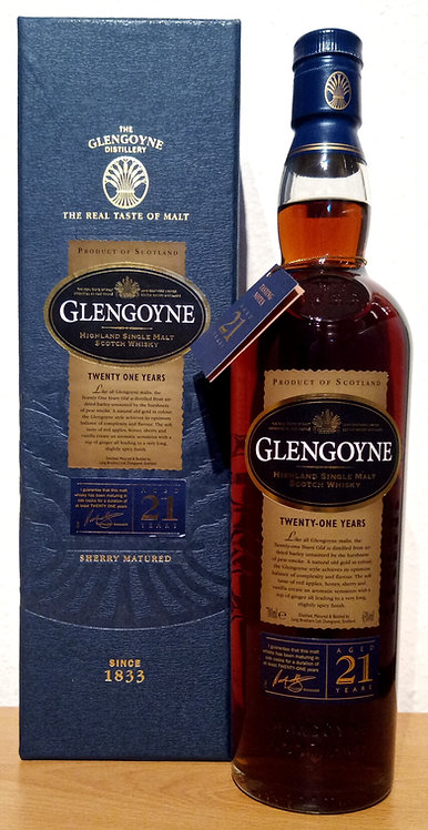 Glengoyne 21 Years old Exclusively Hand-Selected Sherry Casks Limited Release