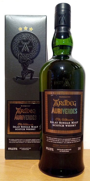 Ardbeg Auriverdes 2002 Limited Edition 12 years old Islay Single Malt Whisky