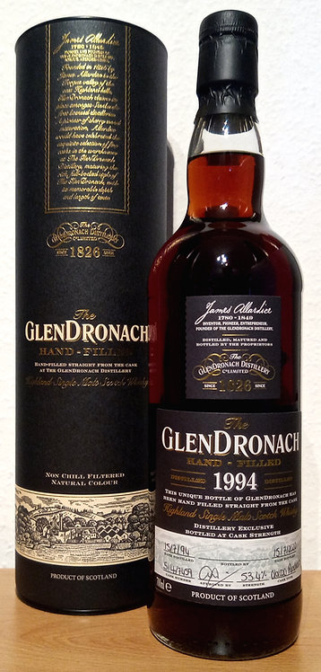 Glendronach 1994 Single Cask 7459 Oloroso Puncheon 26 Years old Hand-filled