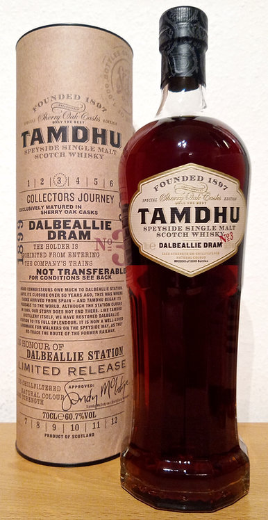 Tamdhu Dalbeallie Dram Sherry Oak Casks Collector's Journey 3