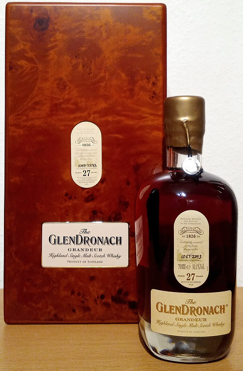 Glendronach Grandeur 1991 Single Sherry Casks 27 Years old Batch 10