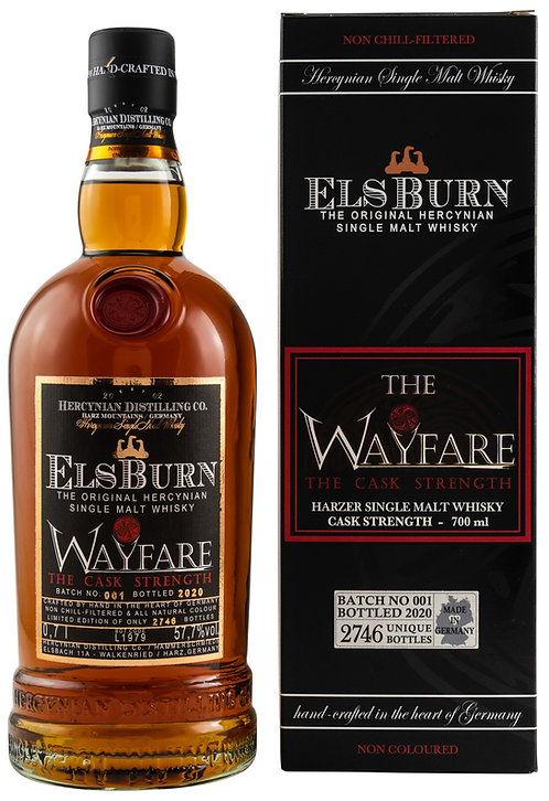 Elsburn Wayfare 2020 - Batch 001 Sherry- Port- & Marsala Casks Single Malt