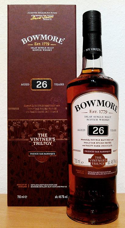 Bowmore The Vintner's Trilogy 26 Years old Ex-Bourbon Barrels & Wine Barrique
