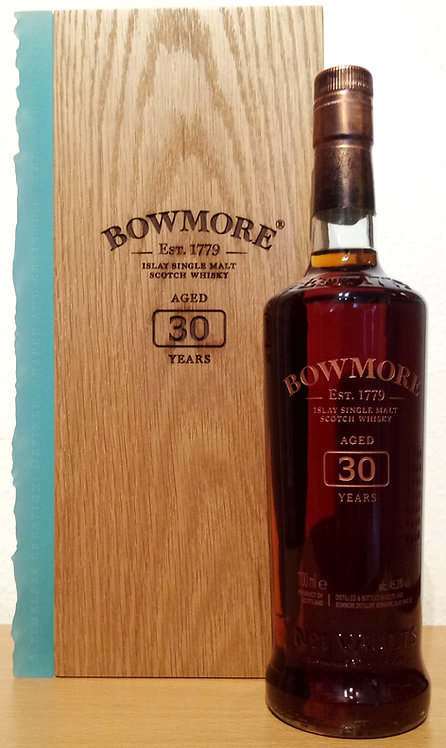 Bowmore 1989 Sherry Hogsheads & Bourbon Barrels 30 Years old