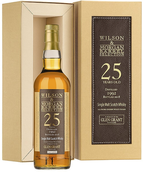 Glen Grant 1992 by Wilson & Morgan Oloroso Sherry Finish 25 Years old