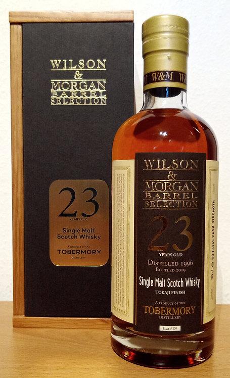 Tobermory 1996 Wilson & Morgan 23 Years old Tokaji Finish
