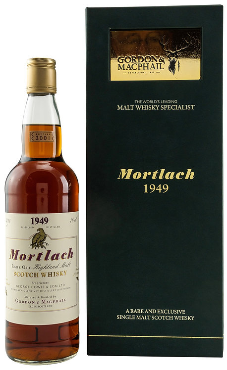 Mortlach 1949 Gordon & MacPhail 52 years old Rare & Old Serie