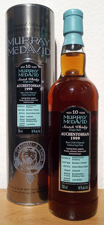 Auchentoshan 1999 Murray McDavid 10 Years old Silver Mission