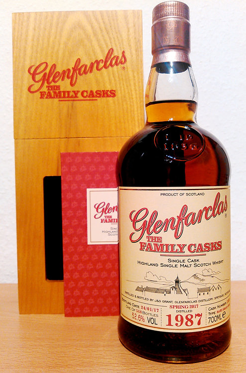 Glenfarclas 1987 The Family Casks 29 Years old Refill Sherry Butt 1851