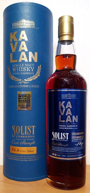 Kavalan SolistVinho Barrique Cask Bottled 2015 Cask W091120006B