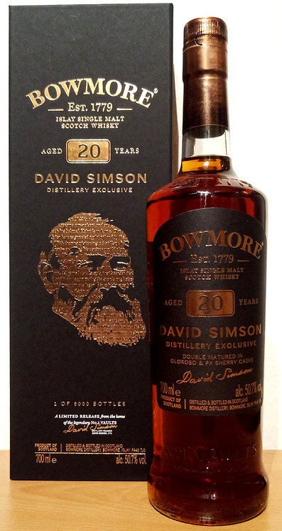 Bowmore Distillery Exclusive 20 Years Double Matured in Oloroso & PX Cask