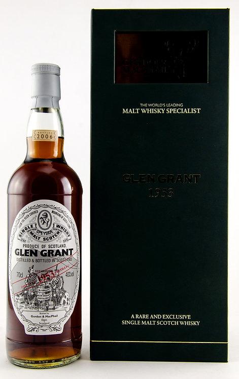 Glen Grant 1953 Bottled 2006 by Gordon & MacPhail 52 Years old