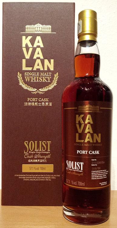 Kavalan Solist Port Cask Bottled 2020 Cask O110328015A