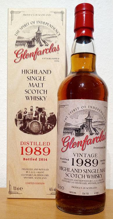 Glenfarclas 1989 Vintage 24 Years old Sherry Casks Limited Edition
