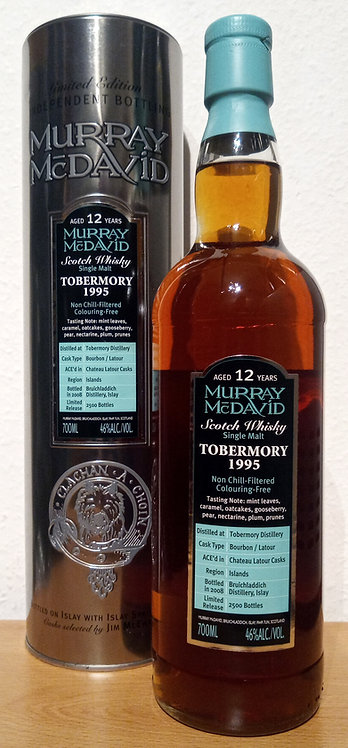 Tobermory 1995 Murray McDavid 12 Years old Silver Mission