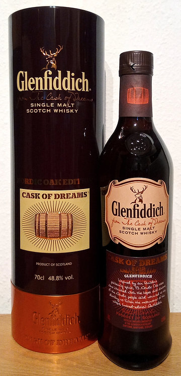 Glenfiddich Cask of Dreams 2012 Nordic Oak Edition Limited Releas