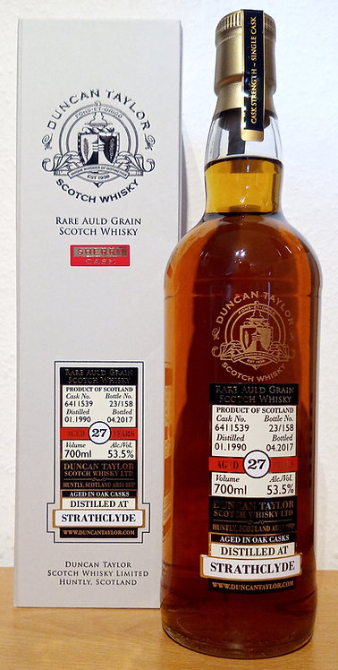 Strathclyde 1990 Duncan Taylor 27 Years old Sherry Cask 6411539