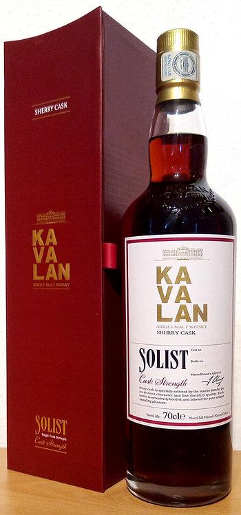 Kavalan Solist Vintage 2008 Oloroso Sherry Cask S081223011