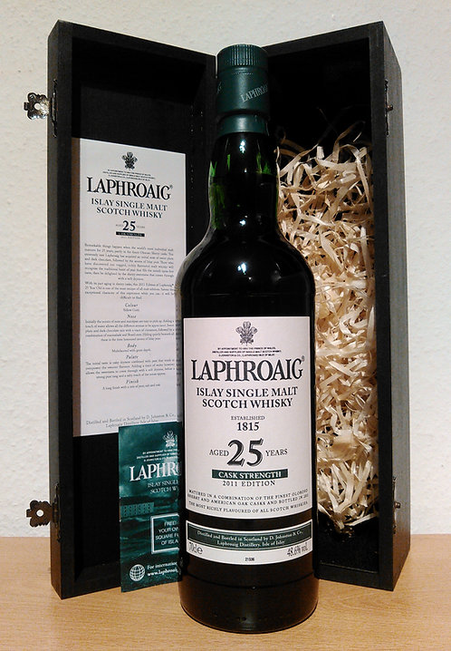Laphroaig 25 Years old Bottled 2011 Cask Strength Edition Oloroso Cask Finish
