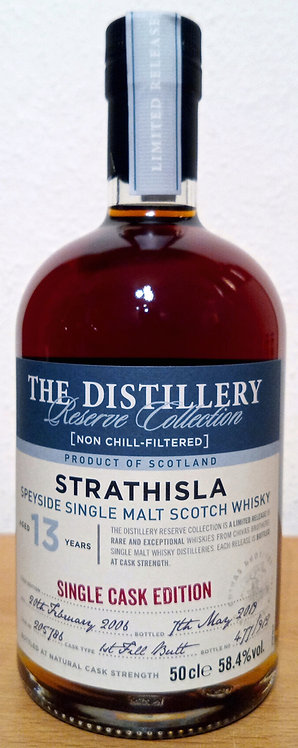 Strathisla 2006 The Distillery Reserve 13 Years old First Fill Butt 205786