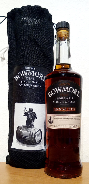 Bowmore 1999 Hand-filled 18 Years old Pedro Ximenez Sherry Butt Cask 25