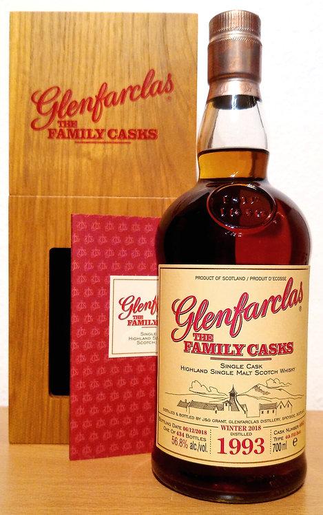 Glenfarclas 1993 The Family Casks 24 Years Sherry Butt 4662