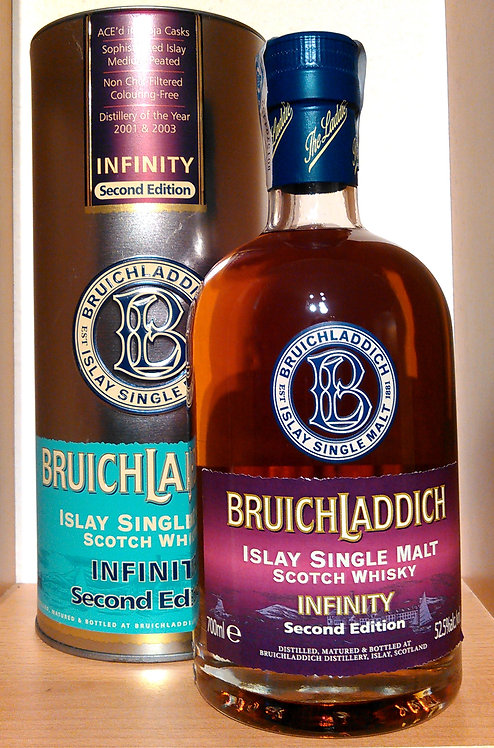 Bruichladdich Infinity 2nd Edition Ace'd in Rioja Casks