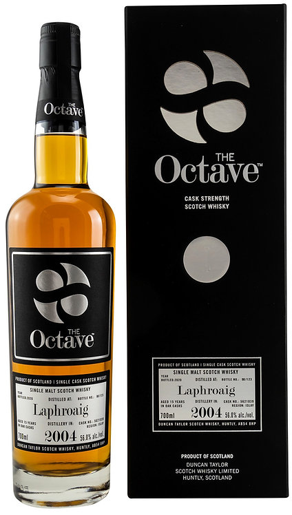 Laphroaig 2004/2020 Duncan Taylor The Octave 15 years old Cask 5621039