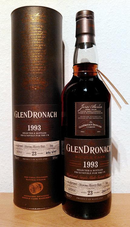 Glendronach 1993 Single Cask 564 Oloroso Sherry Butt 23 Years old