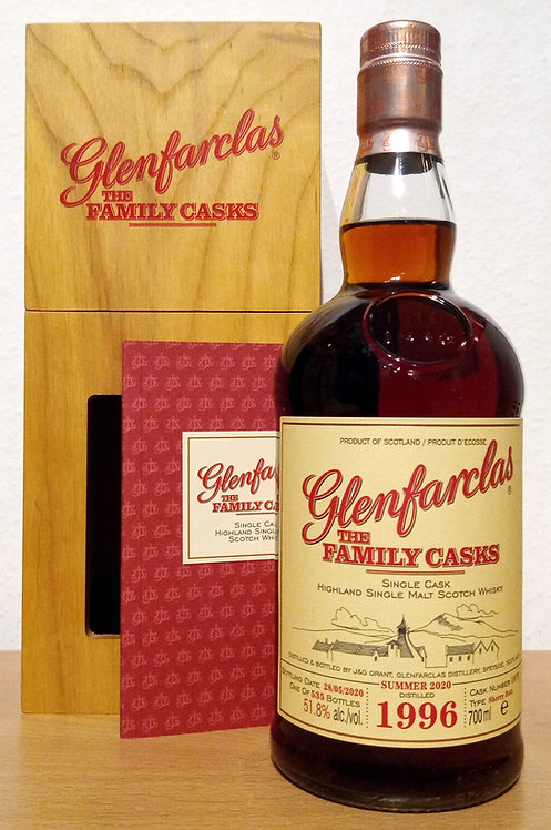 Glenfarclas 1996 The Family Casks 24 Years Sherry Butt 1073