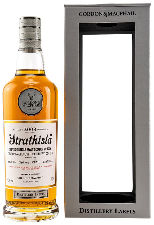 Strathisla 2008 Bottled 2020 by Gordon & MacPhail 12 Years old