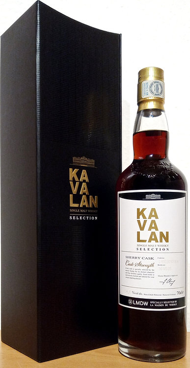 Kavalan Selection Sherry Cask Bottled for Specially Selected by La Maison du