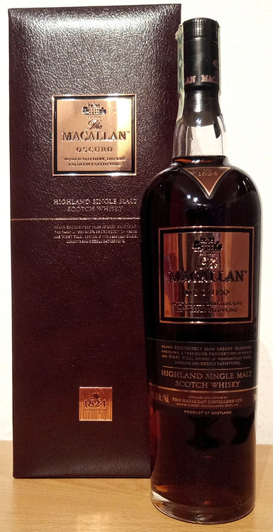 Macallan Oscuro 2010 The 1824 Collection Sherry Cask