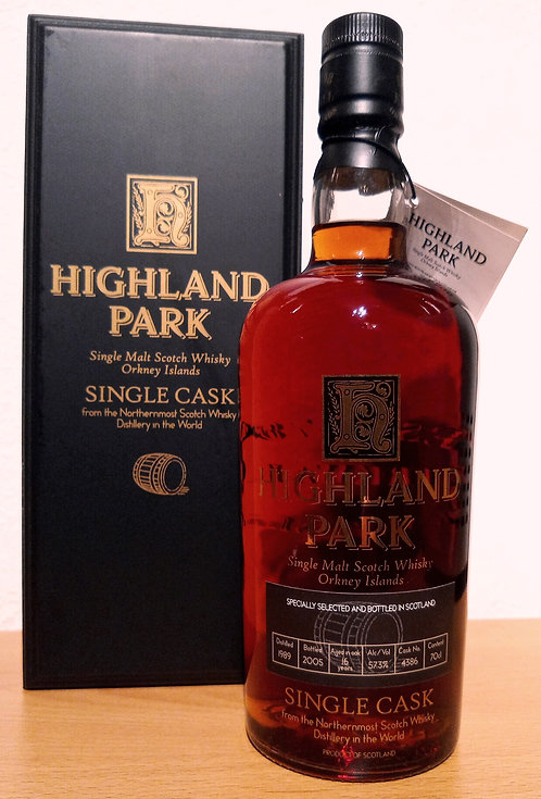 Highland Park 1989 Single Sherry Cask 16 Years old Bottled 2005