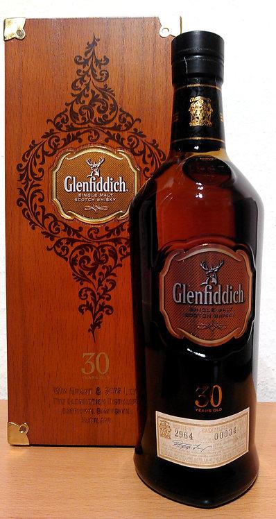 Glenfiddich 30 Years old European Oloroso Sherry / American Bourbon Cask