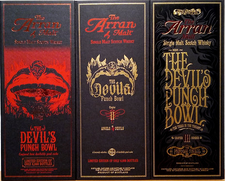 Arran The Devil's Punch Bowl Limited Edition I-III 2012-2014